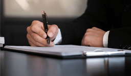 Signing the contract — Property Investment in Broadbeach, QLD