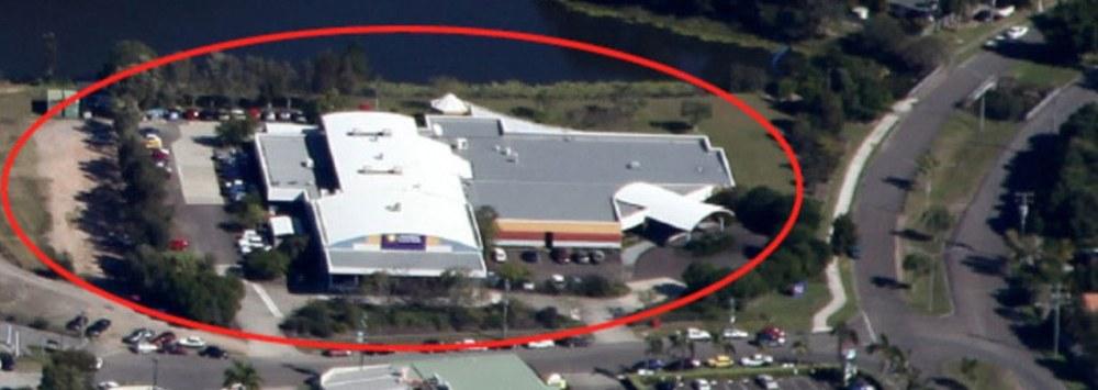 Birdseye View of Shopping Centre