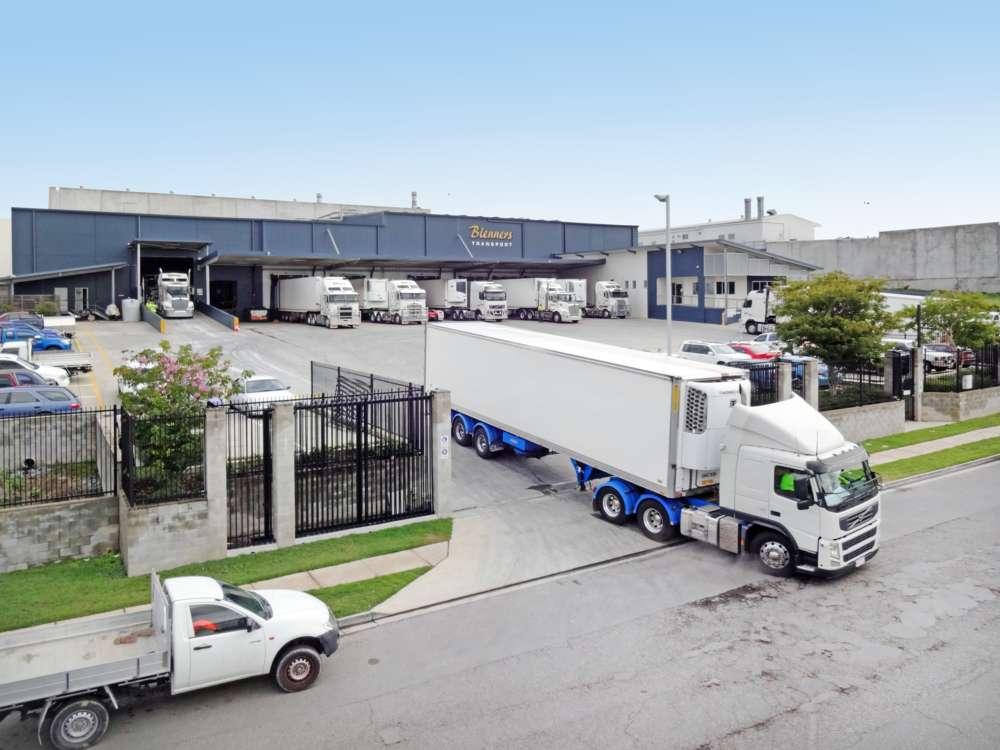 Truck Depot from Street
