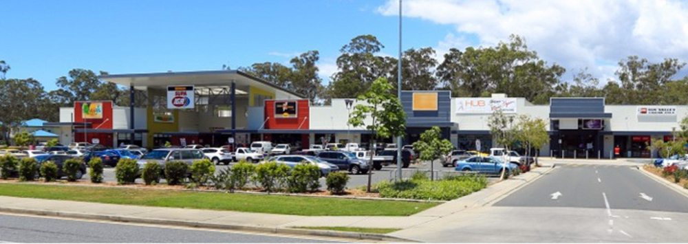 Shopping centre & carpark