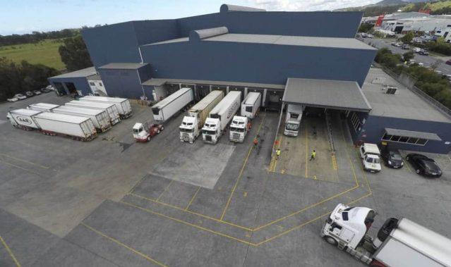Industrial Building & Trucks
